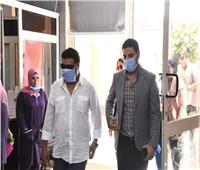 صور| محمد جمعة يزور مركز أورام الفيوم ويتعهد بدعمه
