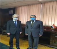 وزير الكهرباء والطاقة المتجددة يجتمع مع سفير اليابان فى القاهرة لبحث مجالات التعاون