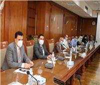 رئيس جامعة المنوفية يستقبل لجنة «الأعلى للجامعات» و«الاتصالات» لتقييم قدرات الجامعة