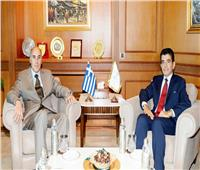 المدير العام للإيسيسكو يستقبل سفير اليونان في الرباط