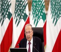 الرئيس اللبناني يدعو العالم إلى المساعدة في تأمين عودة النازحين السوريين