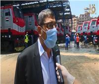 شاهد| جهود وزارة النقل في تطوير ورش الفرز للقطارات بالسكك الحديد