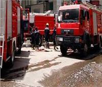 معاينة موقع حريق مطعم في الأزبكية
