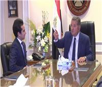 """هشام توفيق وزير قطاع الأعمال العام ضيف """"ابن مصر"""".. السبت"""