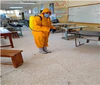تطبيق الإجراءات الاحترازية في سيناء تحسبا الموجة الثانية من كورونا