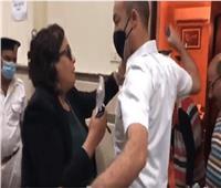 بدء أولى جلسات محاكمة المعتدية على ضابط بمحكمة مصر الجديدة