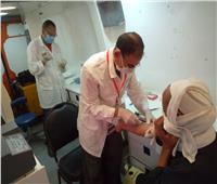 الكشف على 1116 مريضا ضمن قافلة طبية مجانية بالبحيرة