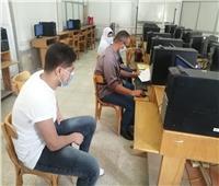 جامعة حلوان: ١٢٧٩ طالب سجلوا رغباتهم في معامل التنسيق الإلكتروني