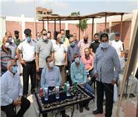 محافظ المنوفية يتفقد مشروعات مياهالشرب والصرف الصحي في الباجور