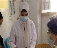 توقيع الكشف الطبي على 1462 شخصا بقرية صندفا بالمنيا