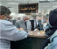 محافظ القاهرة يتفقد العمل بالمركز التكنولوجي لحي مصر الجديدة