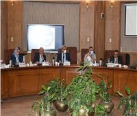 مجلس جامعة القناة يناقش الاستعداد للعام الدراسي