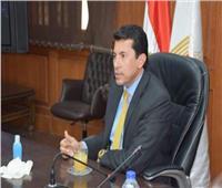 وزير الشباب ينعي البطل عمرو عبد المنعموزملائه من شهداء الواجب الوطني