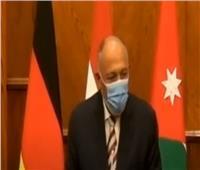 فيديو| شكرى: هناك اتصال دائم بين مصر والسلطة الوطنية الفلسطينية