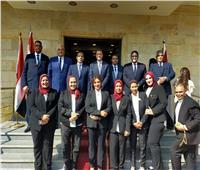 صور| توافد مرشحي القائمة الوطنية على مقر ائتلاف دعم مصر