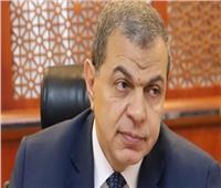 وصول وزير القوى العاملة لتشييع جثمان محمد فريد خميس