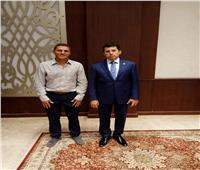 وزير الرياضة يبحث آخر مستجدات بطولة مصر الدولية للأسكواش