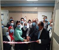 رئيس جامعة حلوان يفتتح وحدة علاج الأورام والعلاج الكيميائي بمستشفى بدر
