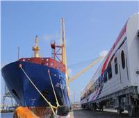 صور| تفاصيل وصول الدفعة السادسة من عربات القطارات الروسية الجديدة