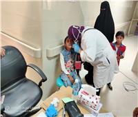 قافلة الأزهر الطبية: الكشف على 905 مريض بمستشفي نخل المركزي علي مدي يومين