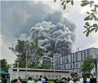 فيديو  احتراق مبنى تابع لشركة «هواوي» الصينية