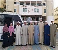 """قافلة """"البحوث الإسلامية"""" إلى أسوان تواصل أنشطتها وتعقد لقاءات توعوية"""