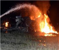 مقتل 22 في تحطم طائرة عسكرية أوكرانية