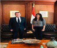 «المشاط» تلتقي سفير أوكرانيا بالقاهرة لبحث انعقاد اللجنة المصرية الأوكرانية المشتركة