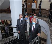 صور| وزير النقل يشهد افتتاح مبنى الهيئة المصرية لسلامة الملاحة البحرية