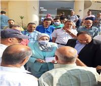 نائب محافظ القاهرة تتابع تقديم طلبات التصالح بالمعصرة وحلوان