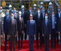 صور| ننشر تفاصيل افتتاح الرئيس السيسى لمشروع مصفاة المصرية للتكرير