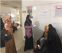 فحص وعلاج١٢٠٠ مواطنبقافلة المساعيد بسوهاج