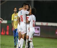 محمود علاء يسجل الهدف الثالث للزمالك في الجونة