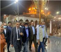 وزير الشباب والرياضة يختتم زيارته الميدانية لمحافظة سوهاج