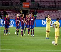 فيديو  برشلونة يكتسح فياريال في أول ظهور لكومان