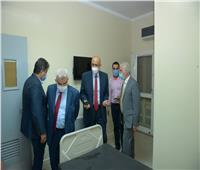 رئيس جامعة طنطا يوجه بالانتهاء من قوائم الانتظار في المستشفي