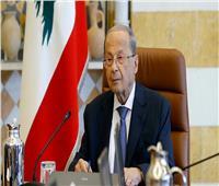 الرئيس اللبناني يؤكد تمسكه بالمبادرة الفرنسية لدعم وإنقاذ بلاده