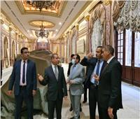 لجنة «الشيوخ» تتابع أعمال تجديد المبني الرئيسي استعداداً لإنطلاق الجلسات