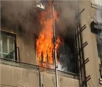 السيطرة على حريق شقة سكنية بالصف