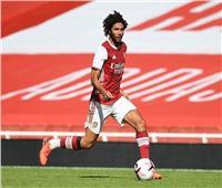 محمد النني يقود خط وسط آرسنال أمام ليفربول
