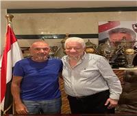 فيديو| كواليس جلسة مرتضى منصور مع البرتغالي باتشيكو