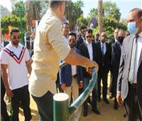 """وزير الرياضة يتفقد أول جيم """"أوت دور"""" ضمن مبادرة """"خليك رياضي"""" بمدينة نصر"""