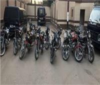 ضبط ألف دراجة نارية مخالفة في حملة لمرور القاهرة