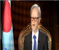 فيديو| السفير الياباني: مصر تلعب دورا هاما في استقرار الشرق الأوسط
