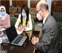 إطلاق المرحلة الأولى من تطوير موقع جامعة أسيوط الإلكتروني