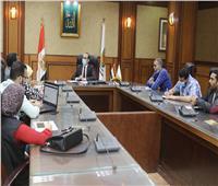 نائب محافظ سوهاج يلتقي وفد مكون تحسين الخدمات ببرنامج تنمية الصعيد