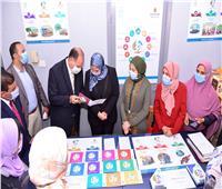 وزيرة التضامن ومحافظ أسيوط يفتتحان وحدة التدريب ضمن برنامج «فرصة»