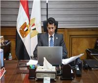 أشرف صبحي يفتتح المنتدى الأول لتسويق المعسكرات الرياضية العربية