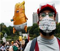 بالصور| المظاهرات تستقبل ترامب في كليفلاند قبل مناظرة بايدن