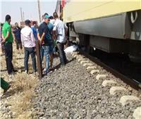 مصرع شاب صدمه قطار أثناء عبوره السكة الحديد في العياط